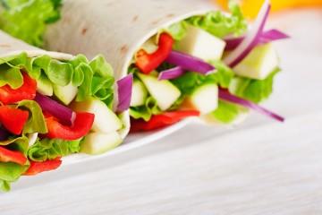 Fajitas de verduras