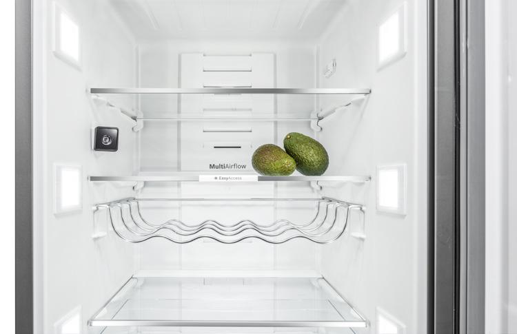Espacio en tu frigorífico
