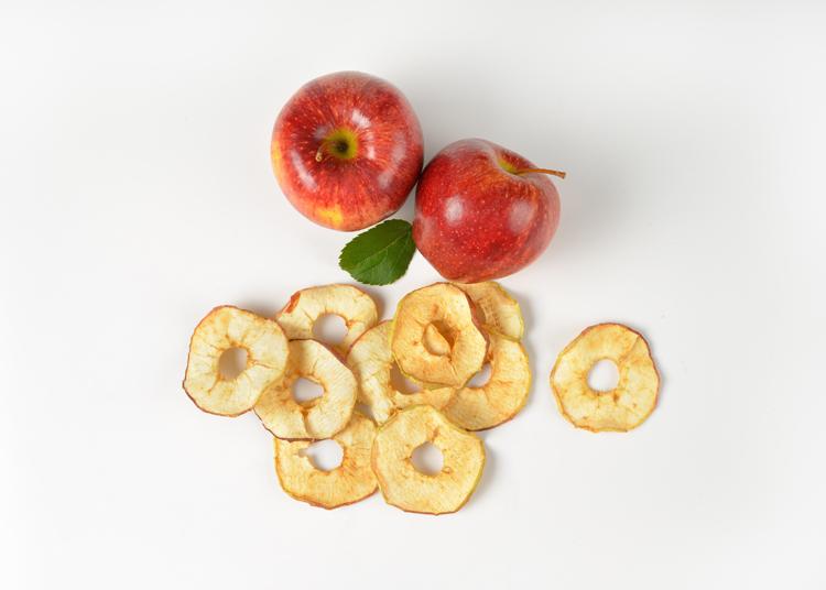 Manzana deshidratada