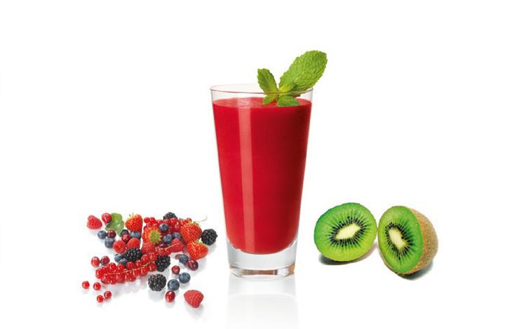 Batido de frutas frescas