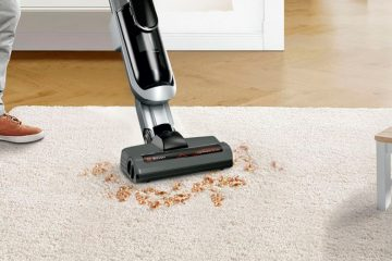 Aspirador vertical Athlet Ultimate de Bosch.