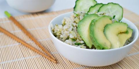Arroz con wasabi