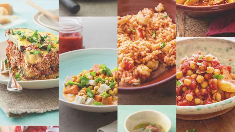 Diferentes platos con Autocook