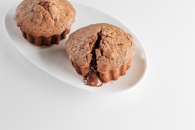 Pastelitos de café y chocolate