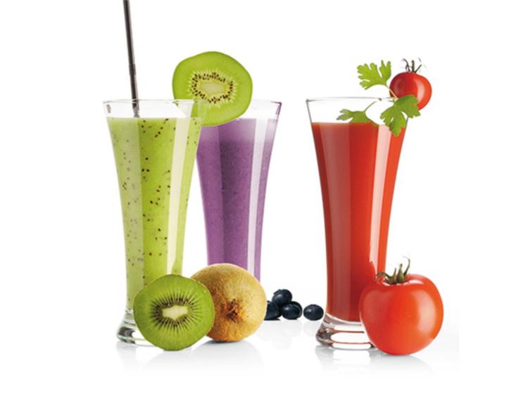batidos de frutas y hortalizas