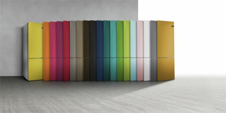 frigoríficos de colores