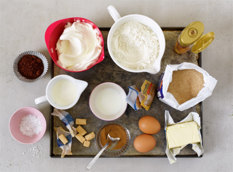 ingredientes cupcakes