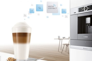 Cafetera inteligente con Home Connect