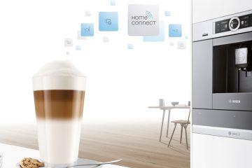 Cafetera inteligente con Home Connect