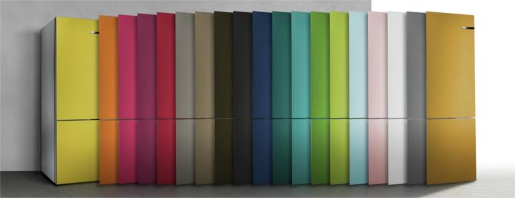 Frigoríficos de colores Bosch