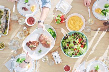 preparar una comida familiar