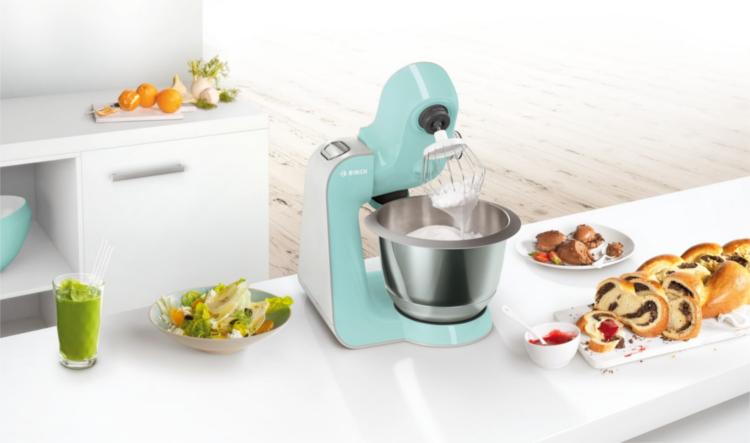 Robot de cocina de colores Bosch