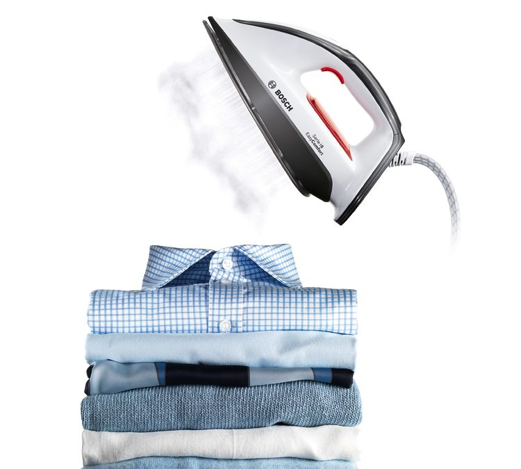 Plancha tu corbata con vapor