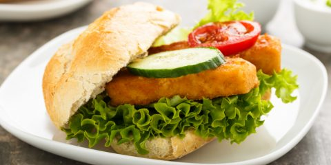 Receta de hamburguesa de merluza