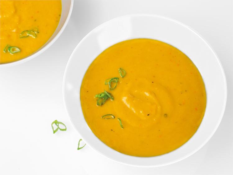 sopa zanahoria fría
