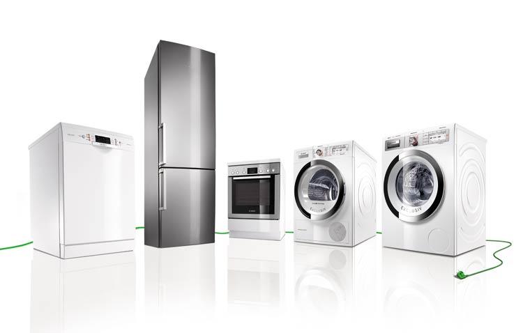 Electrodomésticos con producción sostenible