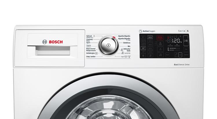 Lavadoras ActiveOxygen de Bosch