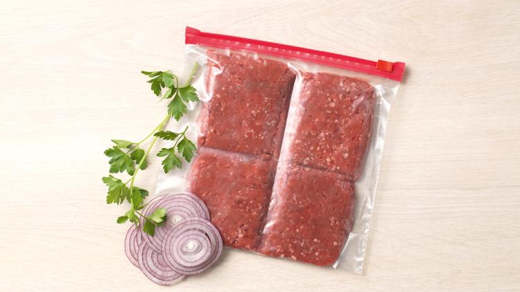 Guardar carne picada en el frigorífico