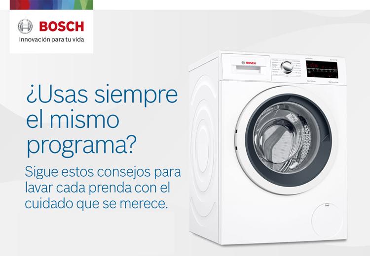 Usas Siempre El Mismo Programa De La Lavadora Innovación Para Tu