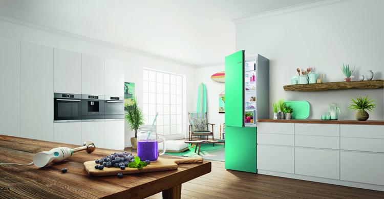 Frigoríficos de colores VarioStyle de Bosch